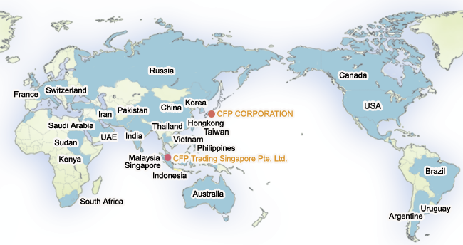 CFP CORPORATION DEALING PLASTIC RAW MATERIALS / PROCESSING SYNTHETIC